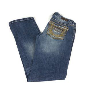 Rock 47 by Wrangler Ultra Low Rise Bootcut Jeans